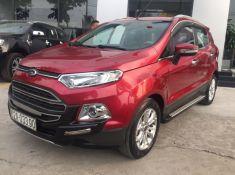 Bán Xe Ford Ecosport 1.5L Titanium đăng ký 1/2015 màu đỏ đô