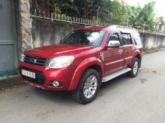 Ford Everest cũ màu đỏ số tự động 2014