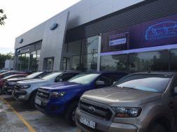 Ford Ranger 2.2XLS MT đời cuối 2015 màu xanh dương