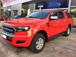 Bán xe Ford Ranger cũ 2.2 XLS đời 2015 màu đỏ