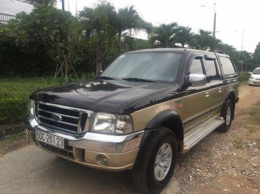 Ford Ranger cũ XLT đời 2004 màu vàng đen