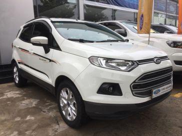 Ford Ecosport 1.5L - số tự động dk 5/2015 - màu trắng