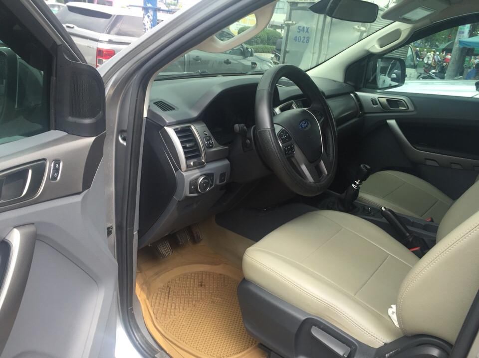Ford ranger 22 xlt cũ đời 2016 màu bạc - bảo hành chính hãng - 5