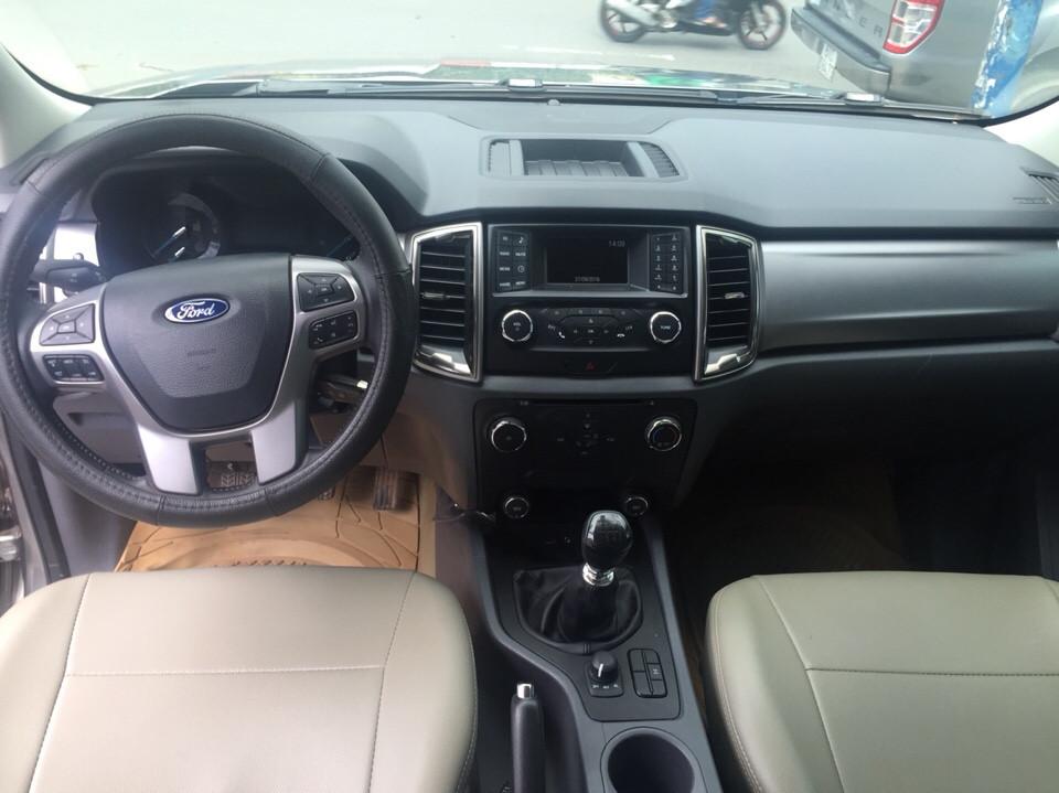 Ford ranger 22 xlt cũ đời 2016 màu bạc - bảo hành chính hãng - 4