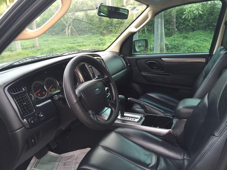Bán xe ford escape cũ đời 2009 màu xám số tự động - 3