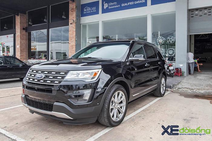 Ford explorer 2016 - dòng xe suv đậm chất mỹ - 1