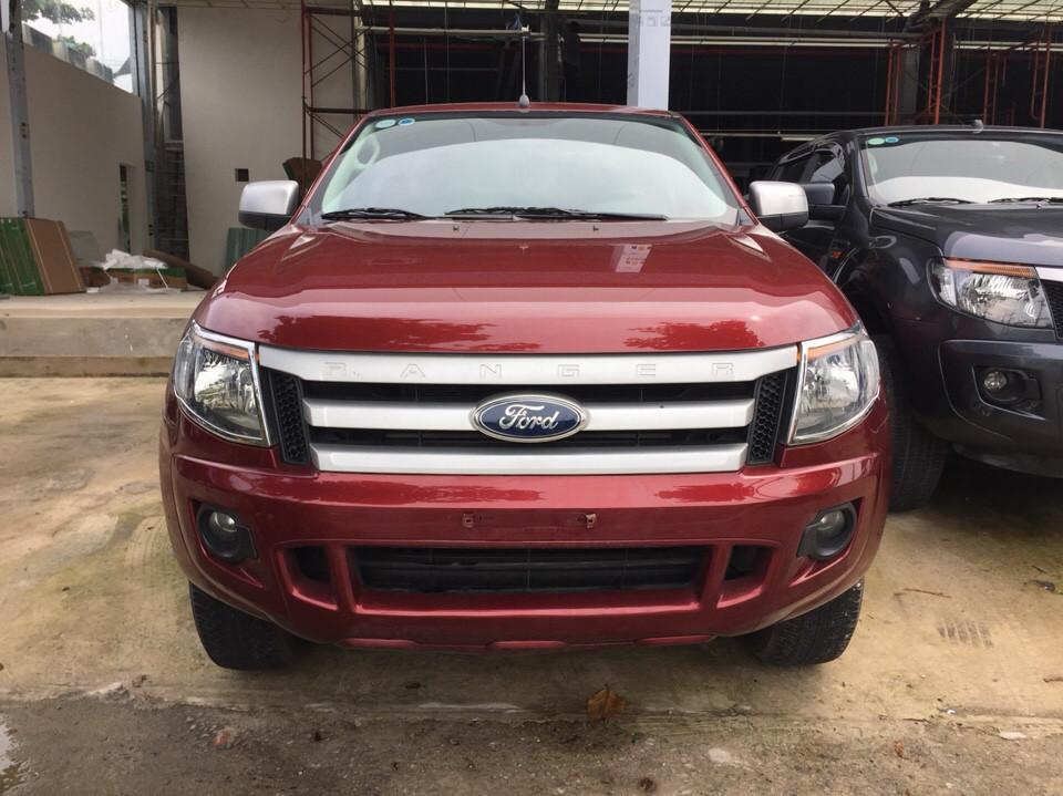 Ford ranger 22l số sàn đời 2013 màu đỏ - 1