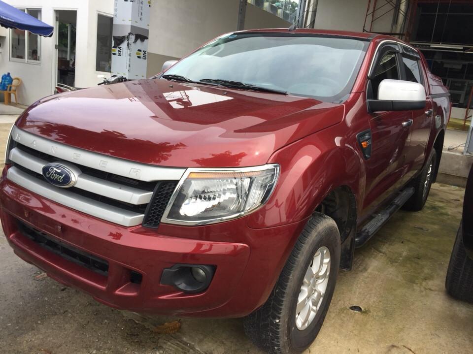 Ford ranger 22l số sàn đời 2013 màu đỏ - 3