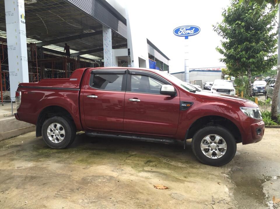 Ford ranger 22l số sàn đời 2013 màu đỏ - 2