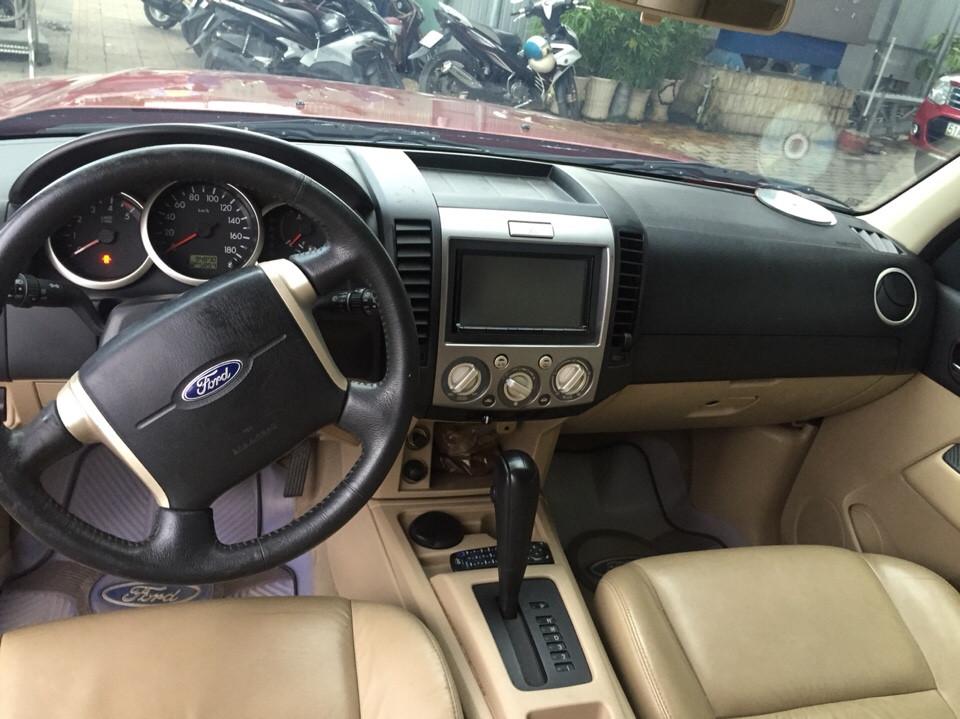 Ford everest cũ đời 2010 số tự động màu đỏ - 4