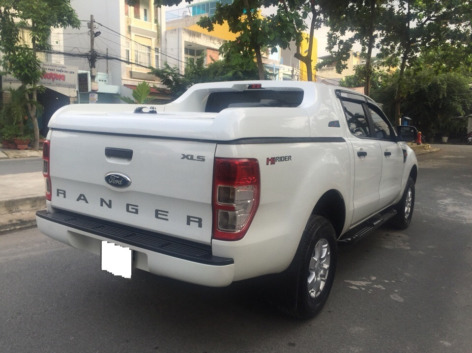 Ford ranger xls at cũ đời 2015 màu trắng full đồ chơi - 8
