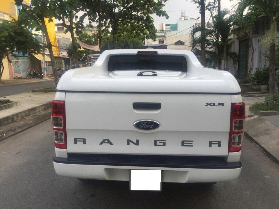 Ford ranger xls at cũ đời 2015 màu trắng full đồ chơi - 9