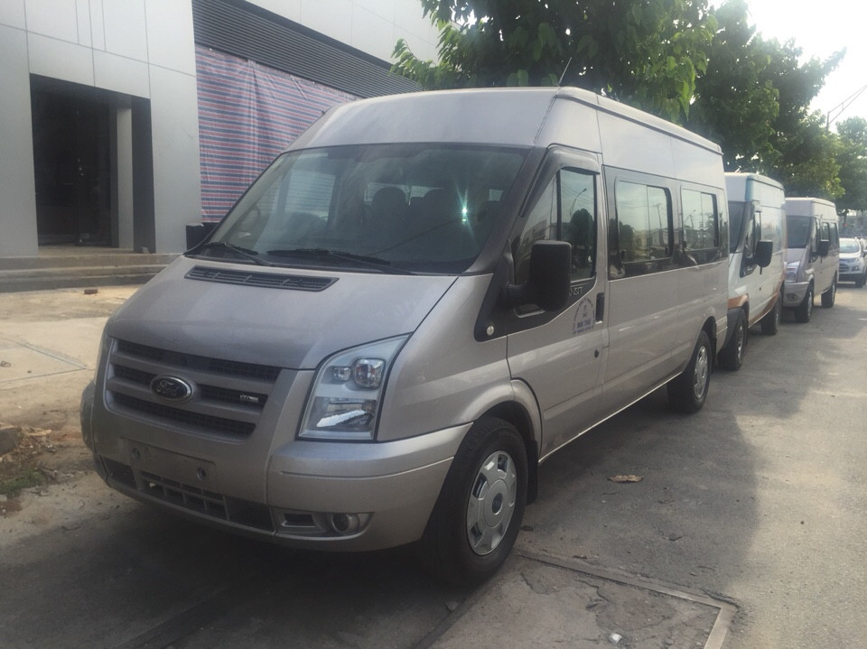 Ford transit 16 chỗ cũ đời 2013 xe không kinh doanh dịch vụ - 3