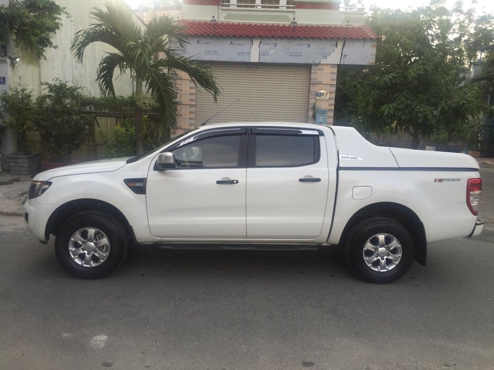 Ford ranger xls at cũ đời 2015 màu trắng full đồ chơi - 6