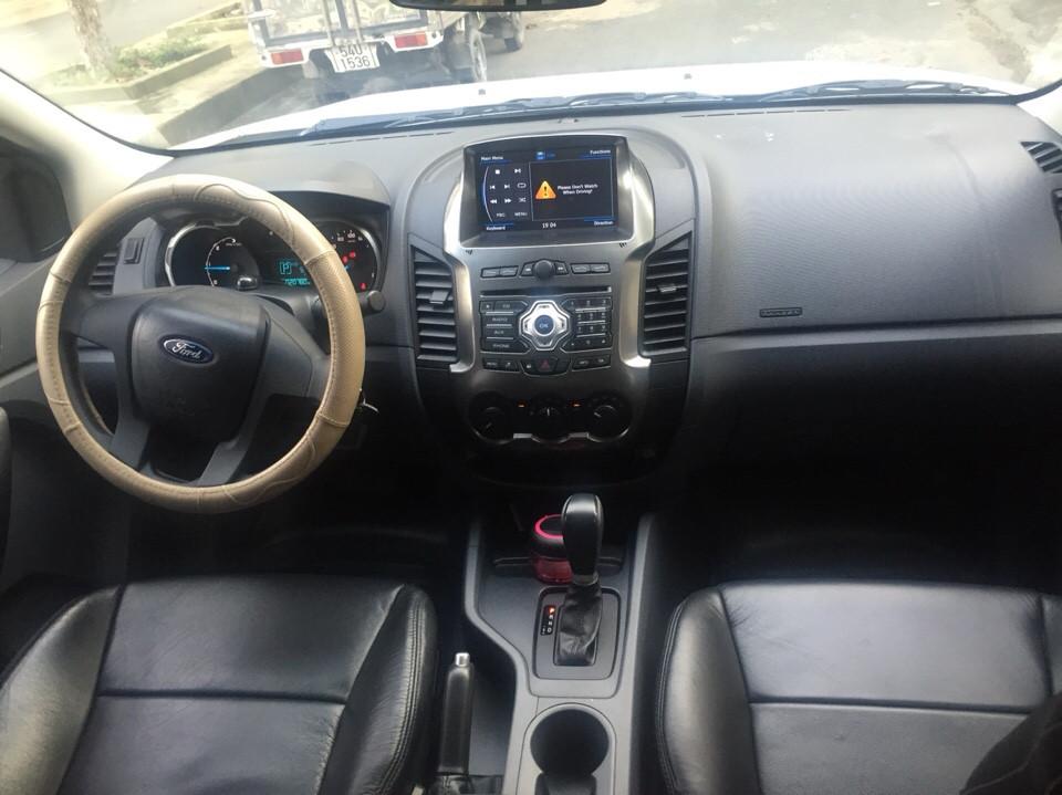 Ford ranger xls at cũ đời 2015 màu trắng full đồ chơi - 4