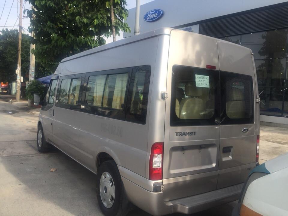 Ford transit 16 chỗ cũ đời 2013 xe không kinh doanh dịch vụ - 2