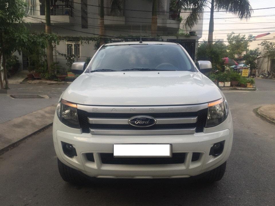 Ford ranger xls at cũ đời 2015 màu trắng full đồ chơi - 1