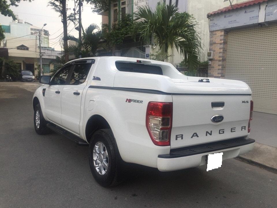 Ford ranger xls at cũ đời 2015 màu trắng full đồ chơi - 7