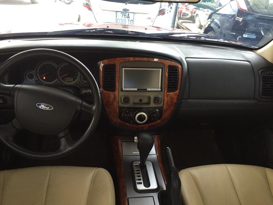 Ford escape cũ đời 2010 màu đỏ đô - 4