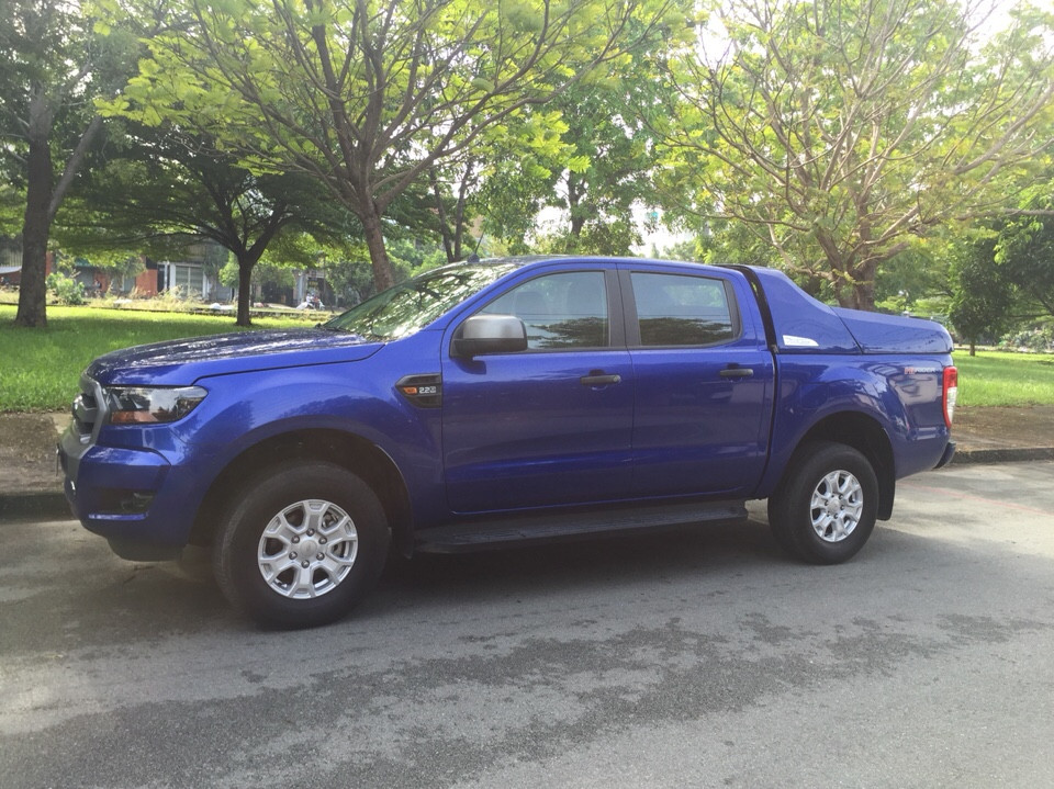 Ford ranger 22xls mt đời cuối 2015 màu xanh dương - 7