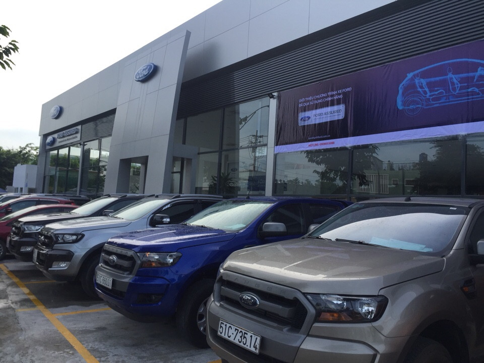 Ford ranger 22xls mt đời cuối 2015 màu xanh dương - 1