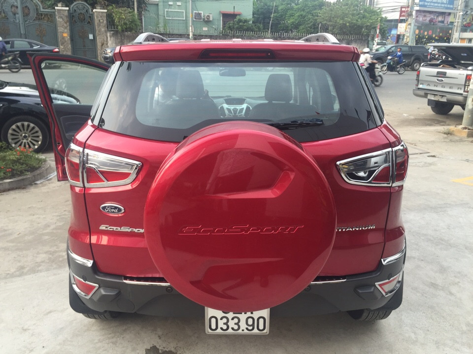 Bán xe ford ecosport 15l titanium đăng ký 12015 màu đỏ đô - 4