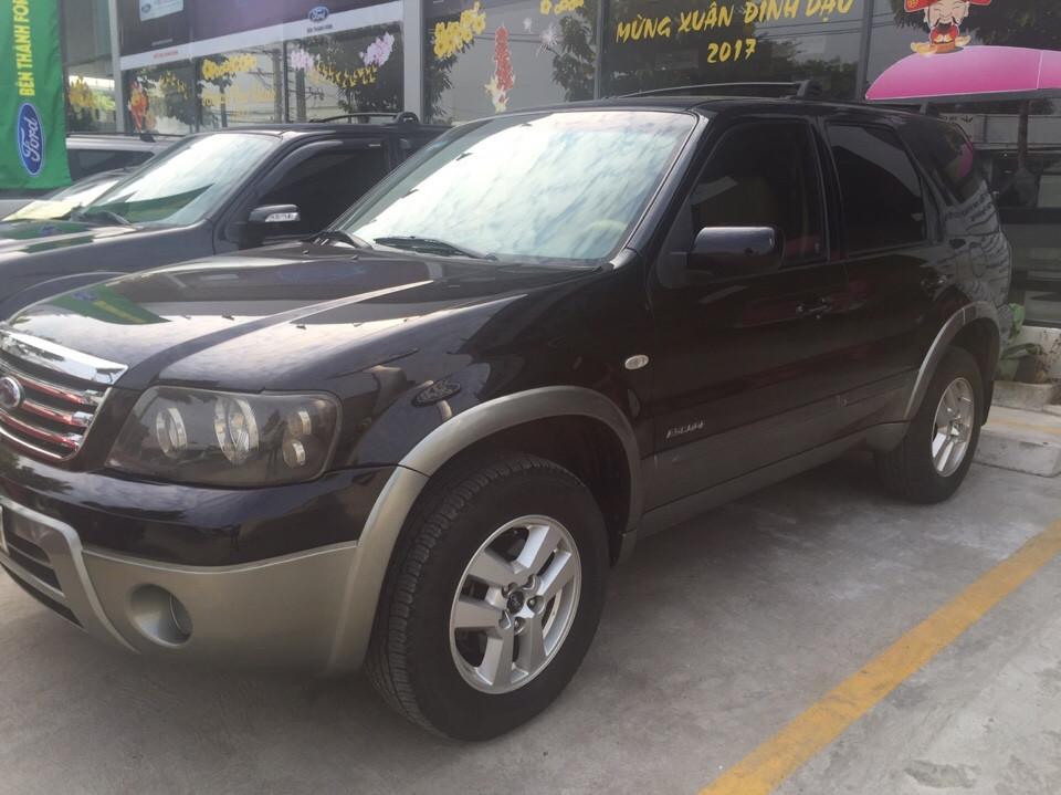 Ford escape cũ đời 2007 màu đen 1 đời chủ sử dụng - 1