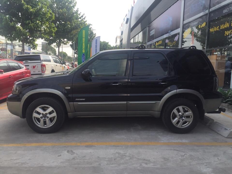 Ford escape cũ đời 2007 màu đen 1 đời chủ sử dụng - 2