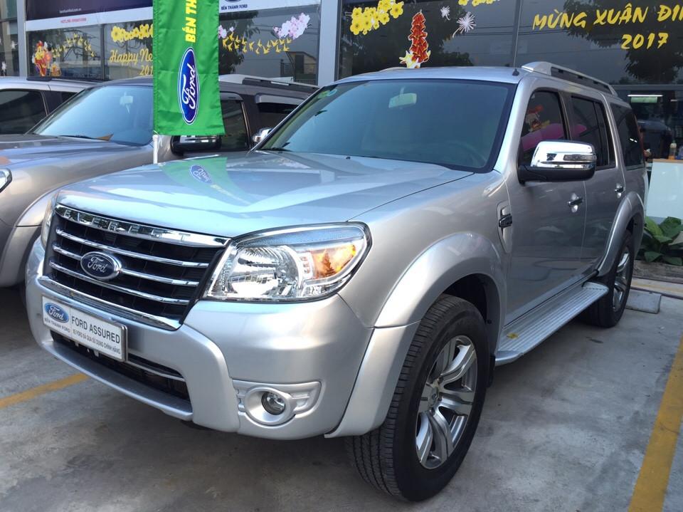 Ford everest limited đăng ký 32012 màu ghi bạc - 2