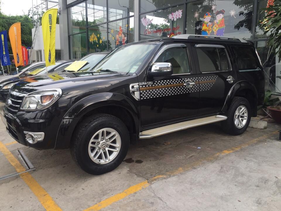 Xe ford everest cũ số sàn đời 2009 màu đen - 1