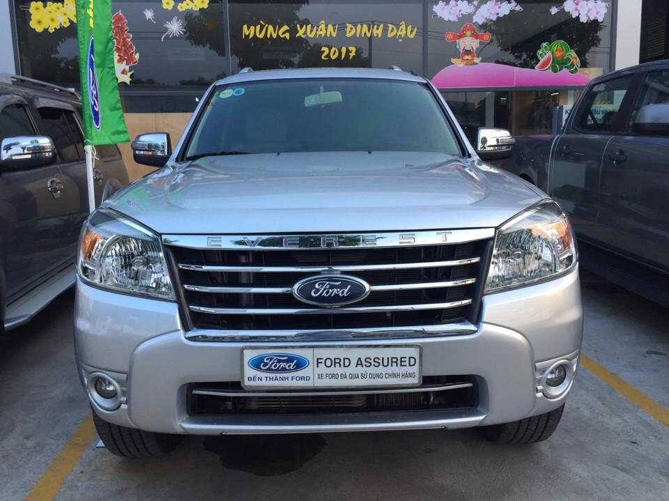 Ford everest limited đăng ký 32012 màu ghi bạc - 3