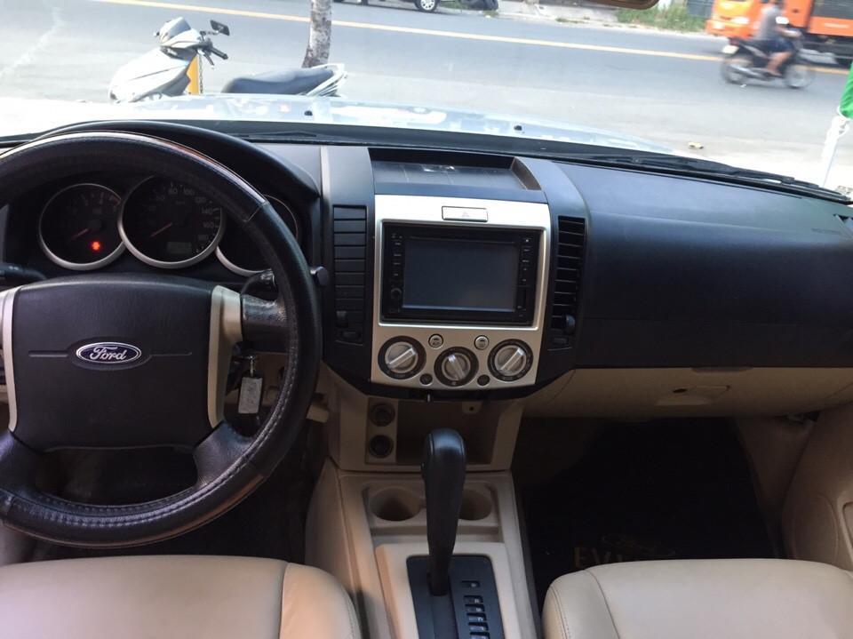 Ford everest limited đăng ký 32012 màu ghi bạc - 4