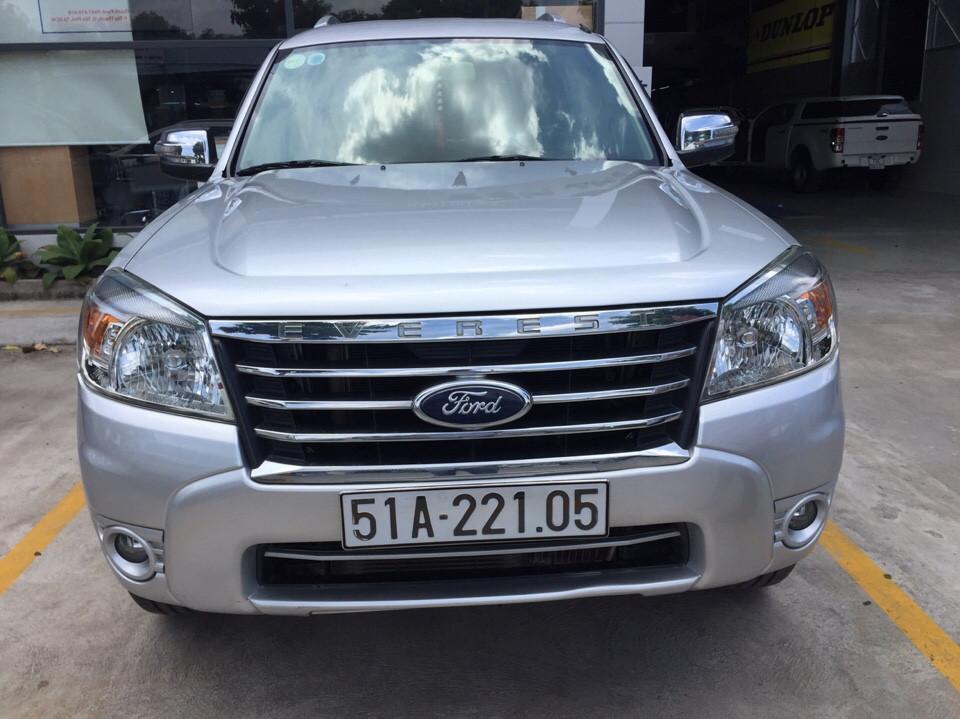 Ford everest cũ số tự động 1 đời chủ năm 2011 màu bạc - 2