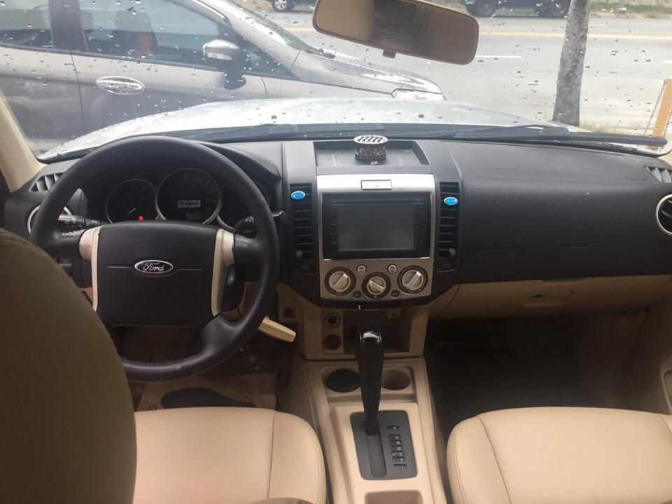 Ford everest cũ số tự động 1 đời chủ năm 2011 màu bạc - 4