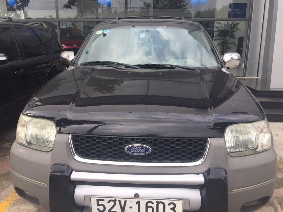 Ford escape cũ 2002 màu đen 1 chủ - hiếm gặp - 2