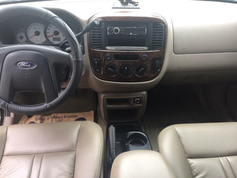 Ford escape cũ 2002 màu đen 1 chủ - hiếm gặp - 3