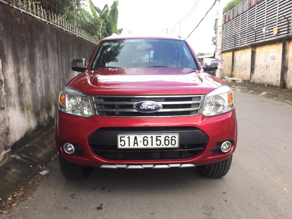 Ford everest cũ màu đỏ số tự động 2014 - 1