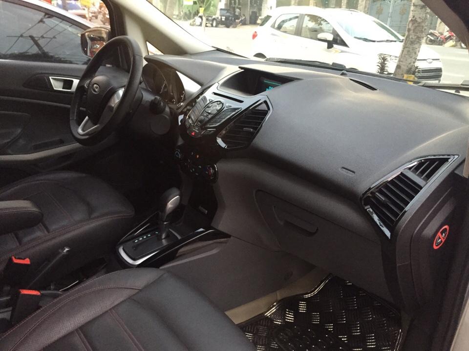 Ford ecosport cũ đời 2015 màu ghi bạc số tự động - 3