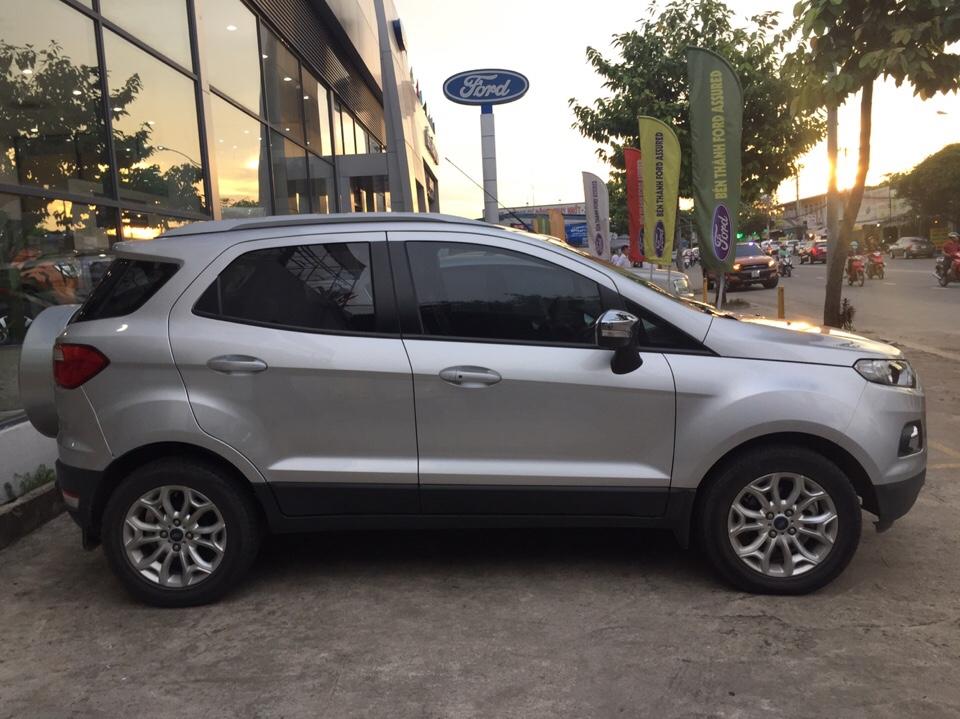 Ford ecosport cũ đời 2015 màu ghi bạc số tự động - 9