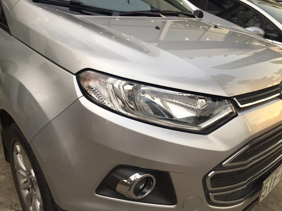 Ford ecosport cũ đời 2015 màu ghi bạc số tự động - 2