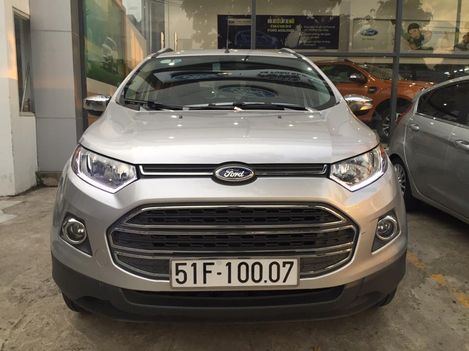 Ford ecosport cũ đời 2015 màu ghi bạc số tự động - 8