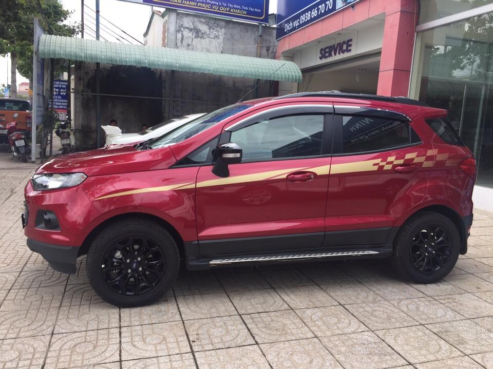 Ford ecosport 15l black edition đi lướt 8000km - 1