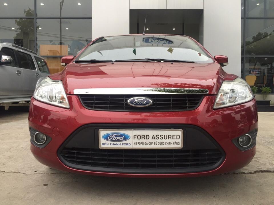 Ford focus 18l đời 2012 màu đỏ - 3