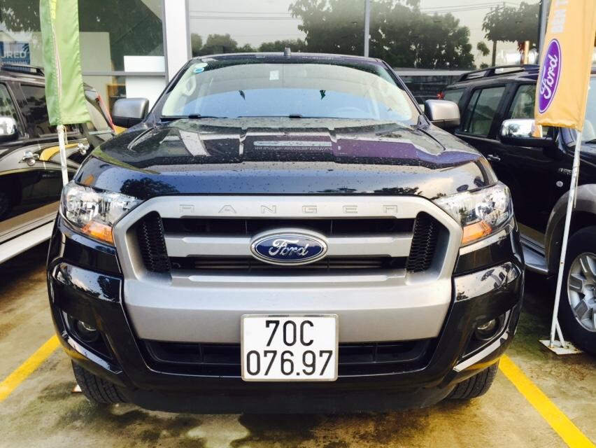 Ford ranger xls mt đời 2016 màu đen phong thủy - 2