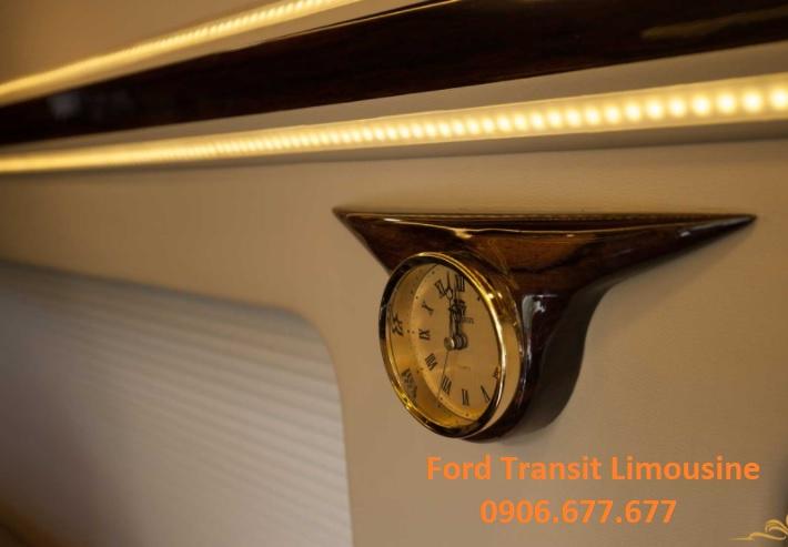 Ford transit lomousine - 10 chỗ ngồi - 4