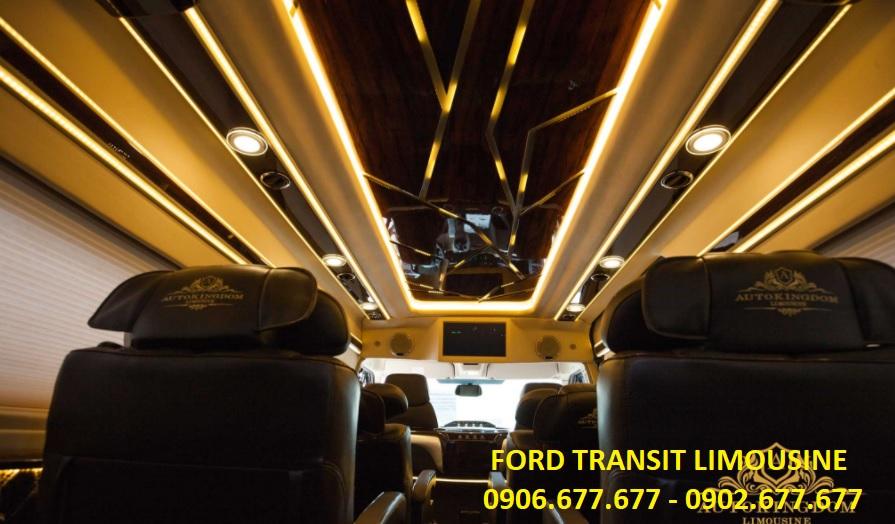 Ford transit lomousine - 10 chỗ ngồi - 3