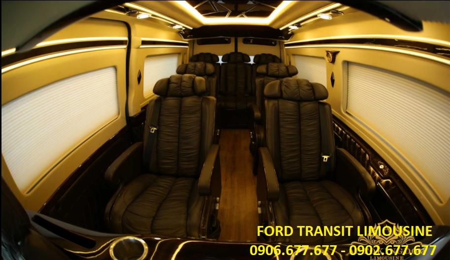 Ford transit lomousine - 10 chỗ ngồi - 2