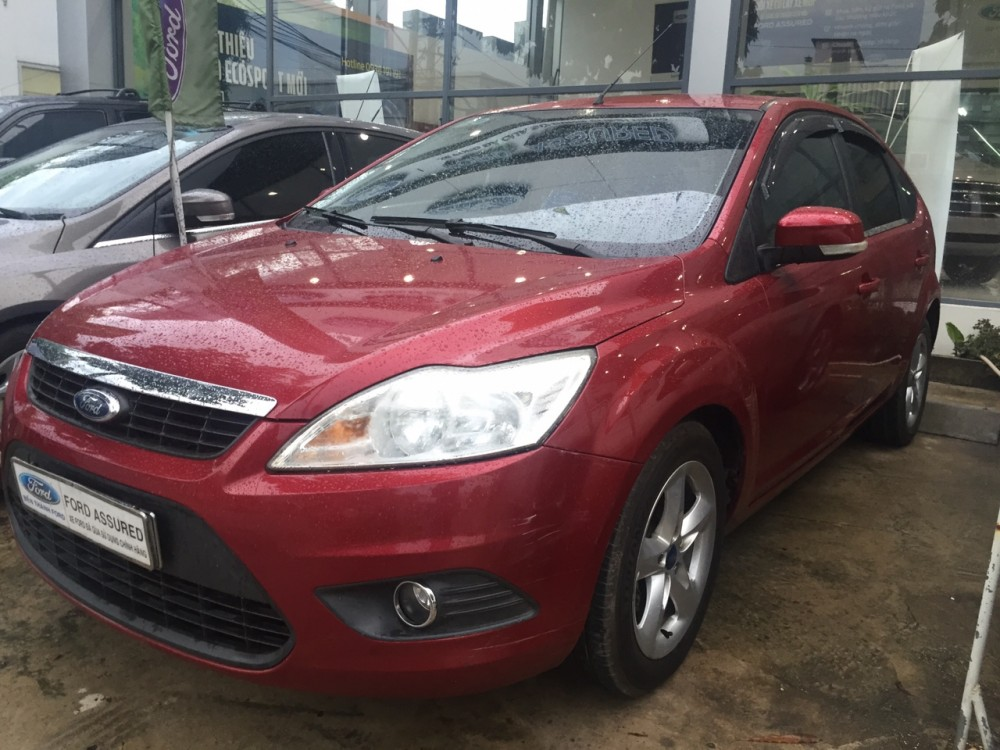 Ford focus 18at - 2012 màu đỏ - 2