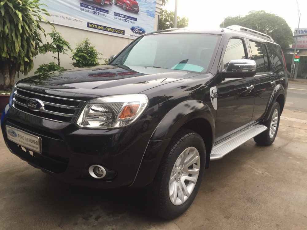 Ford everest 2 cầu 4x4 mt - sản xuất 2014 - 1