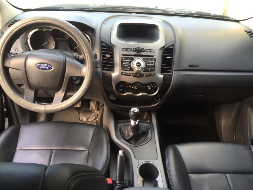 Ford ranger 22 xls mt- 2014 màu đen - 4